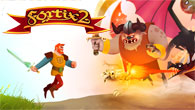 Fortix 2 is best described as a reverse turret defense game. As Sir Fortix, the knight, you must conquer castles while dodging tower turrets and evil monsters. Fight your way […]
