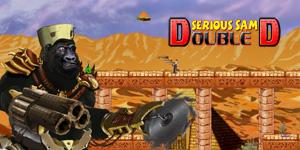 Serious Sam Double D dinosaur