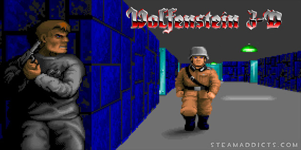 Every week, Retro Game Wednesday reviews a well-aged game available for digital download on Steam. – Title:  Wolfenstein 3D Genre:  FPS/Nazi Murderin' Simulator Developer: Apogee/iD Software Release Date: 5 May, 1992 Price (at time...