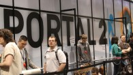 Getting the last of the Pax East pics off of our cameras.  Here's a few of the Portal 2 booth…