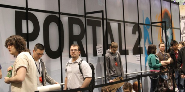 Getting the last of the Pax East pics off of our cameras.  Here's a few of the Portal 2 booth… Related posts: More Portal Images from PAX East PAX Booth […]