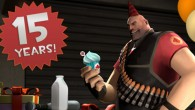 It looks like we've all been too busy uber-ing heavies and backstabbing engineers to notice that the franchise we all enjoy has turned 15 today.  That's right, Team Fortress hit...